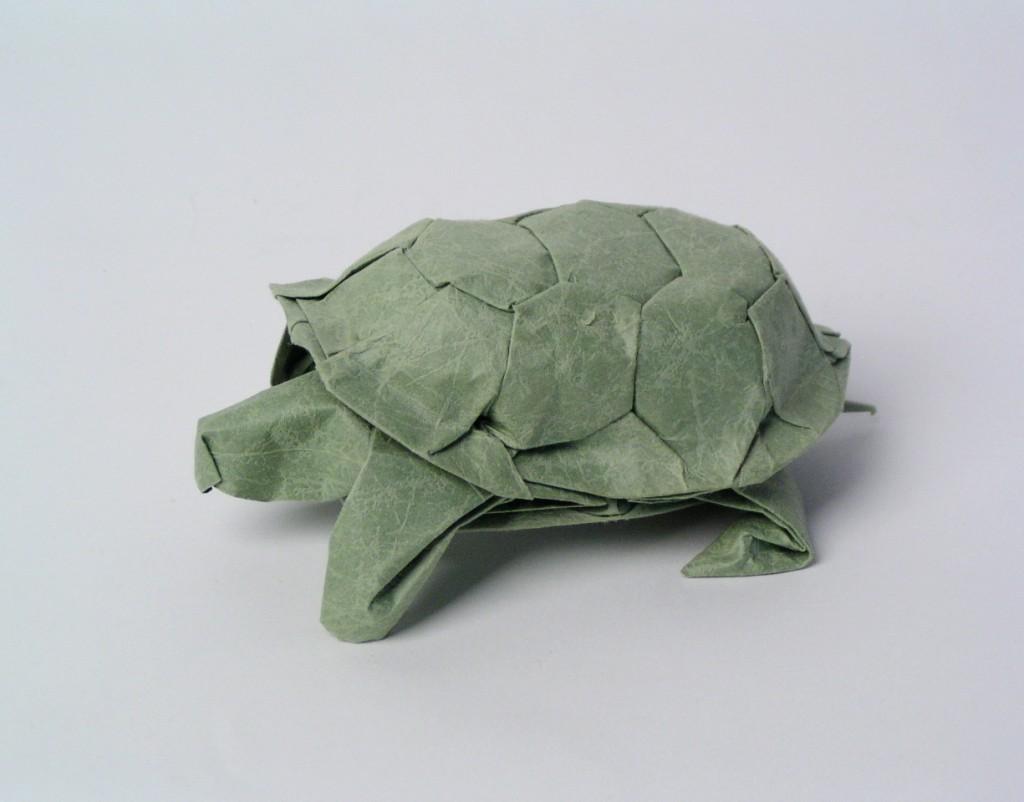 Origami Sea Turtle (Riccardo Foschi) - YouTube | 802x1024
