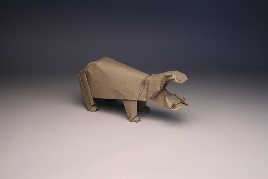 Hippo Origami | 683x1024