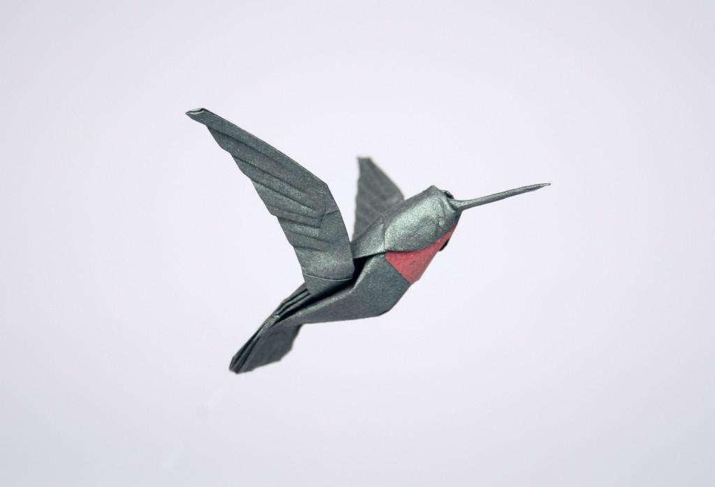 Ruby Throated Hummingbird Opus 389 Robert J Lang Origami