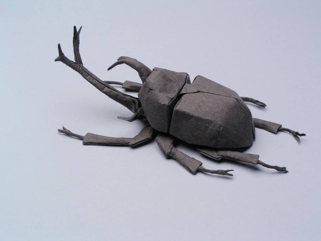Origami Beetle Recommendations: What to Fold July 2015 - YouTube | 768x1024