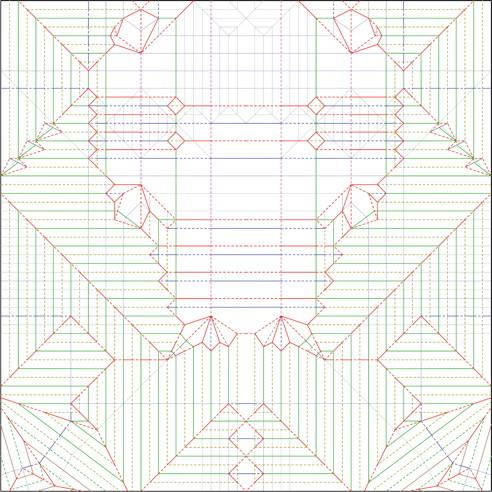 yellow_jacket_cp yellow jacket, opus 624 robert j lang origami
