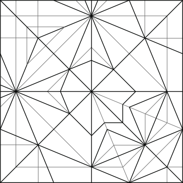 Garibaldi Crease Pattern