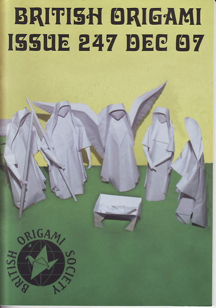 Bos Magazine 247 Robert J Lang Origami